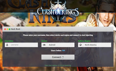Cara Cheat Clash Of Kings Terbaru Unlimited Wood – Gold – Food