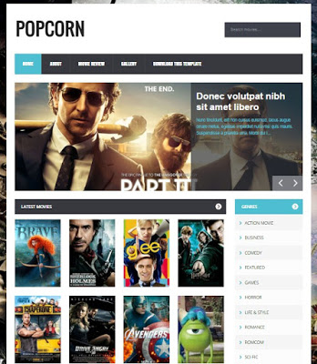 6 Template Blogspot Movie Dan Anime Paling Keren Dan Responsive